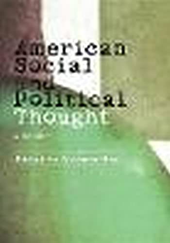 American Social and Political Thought A Concise Introduction