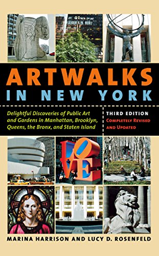 9780814736616: Artwalks in New York: Delightful Discoveries of Public Art and Gardens in Manhattan, Brooklyn, the Bronx, Queens, and Staten Island