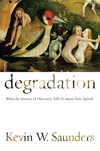 9780814741443: Degradation: What the History of Obscenity Tells Us about Hate Speech