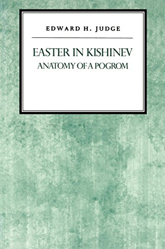 9780814741931: Easter in Kishniev: Anatomy of a Pogrom (Reappraisals in Jewish Social and Intellectual History)