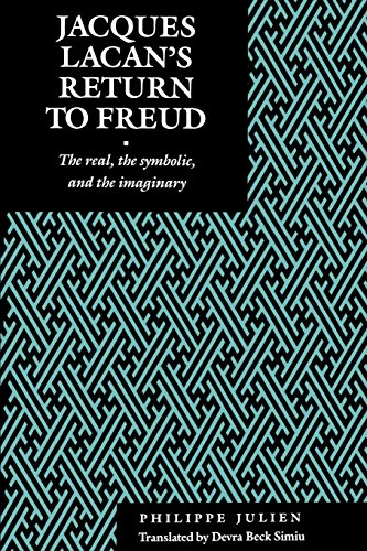 Jacques Lacan's Return to Freud: The Real, the Symbolic, and the Imaginary (Psychoanalytic ...