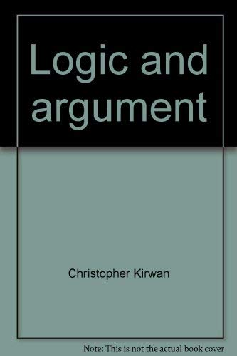 9780814745687: Logic and Argument