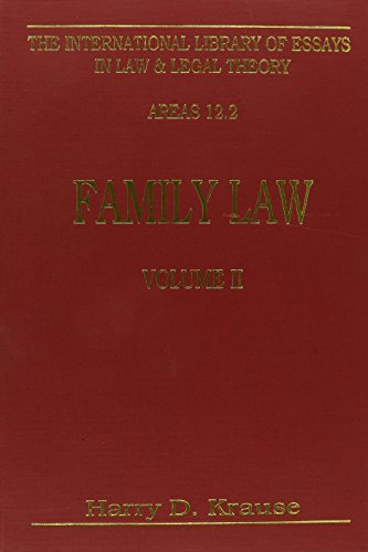 9780814746332: Family Law (Vol. 2) (International Library of Essays in Law and Legal Theory)