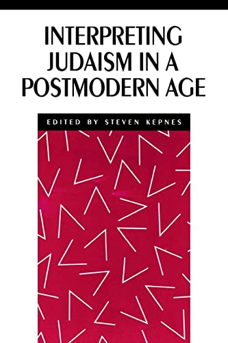 9780814746745: Interpreting Judaism in a Postmodern Age (New Perspectives on Jewish Studies)