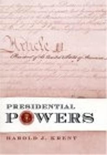 9780814747827: Presidential Powers