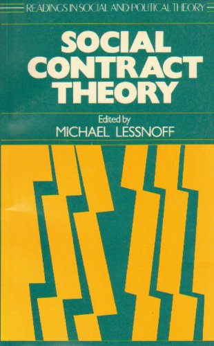 9780814750551: Social Contract Theory (Political Economy of Austrian School)