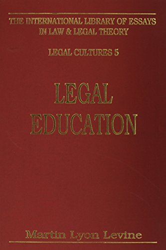 9780814750650: Legal Education (International Library of Essays in Law and Legal Theory)