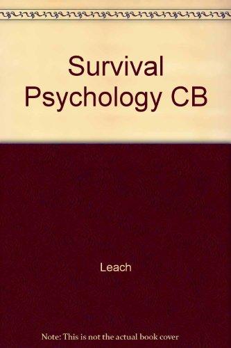 9780814750902: Survival Psychology