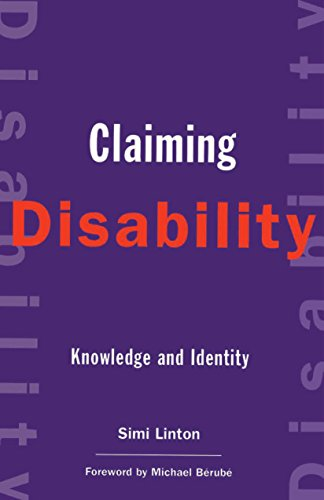 9780814751336: Claiming Disability: Knowledge and Identity (Cultural Front)