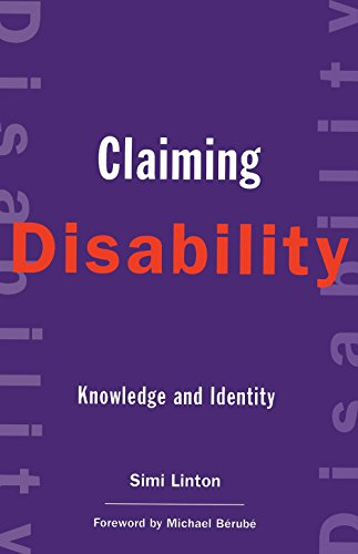 9780814751343: Claiming Disability: Knowledge and Identity (Cultural Front)