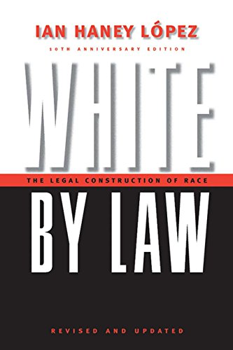 9780814751374: White by Law: Legal Construction of Race (Critical America Series)