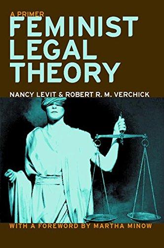 9780814751985: Feminist Legal Theory: A Primer (Critical America)