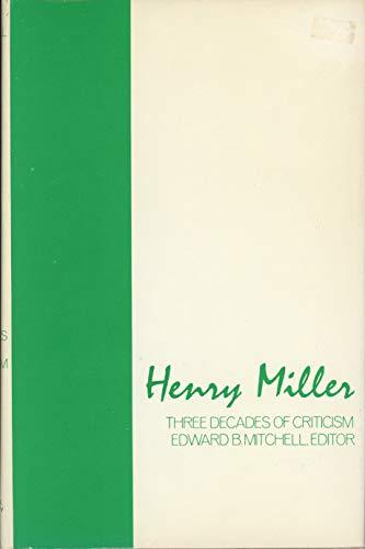 9780814753569: Henry Miller: Three Decades of Criticism