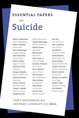 9780814755501: Essential Papers on Suicide (Essential Papers in Psychoanalysis)