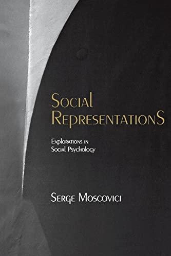 9780814756300: Social Representations: Explorations in Social Psychology