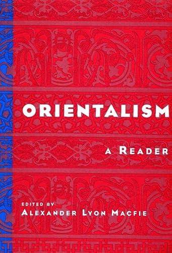 9780814756645: Orientalism: A Reader: A Reader / Edited by A.L. Macfie.