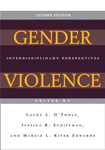 9780814762097: Gender Violence (Second Edition): Interdisciplinary Perspectives