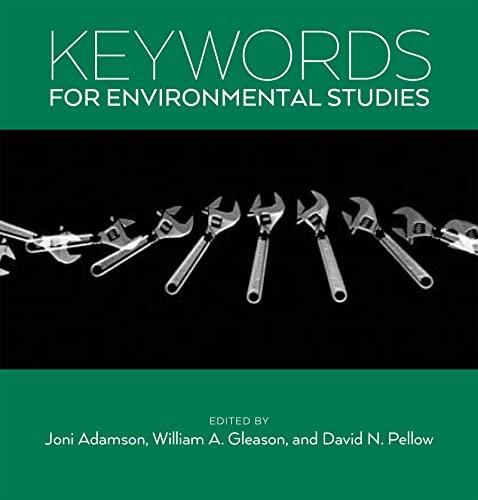 9780814762967: Keywords for Environmental Studies
