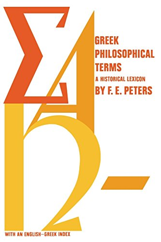 9780814765524: Greek Philosophical Terms: A Historical Lexicon