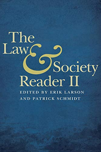 9780814770610: The Law and Society Reader II