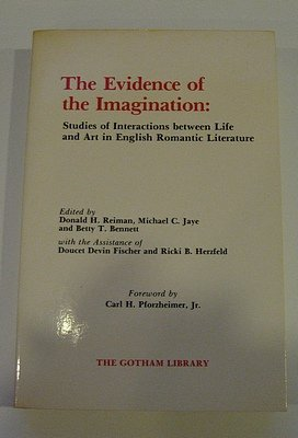9780814773727: The Evidence of the Imagination (The Gotham Library)