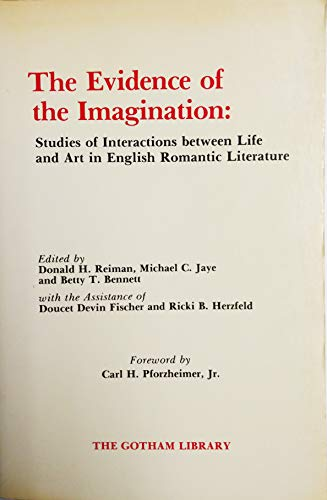 9780814773734: The Evidence of the Imagination