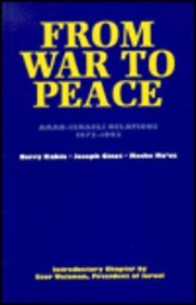 9780814774625: From War to Peace: Arab-Israeli Relations 1973-1993