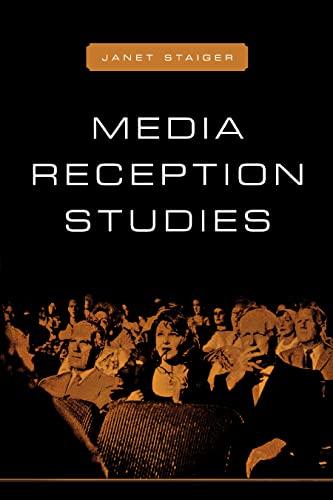 9780814781357: Media Reception Studies