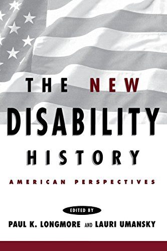 9780814785645: The New Disability History: American Perspectives (The History of Disability)