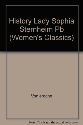 The History of Lady Sophie Sternheim
