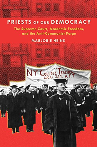 9780814790519: Priests of Our Democracy: The Supreme Court, Academic Freedom, and the Anti-Communist Purge