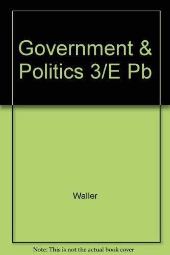 9780814791974: The Government and Politics of the People's Republic of China