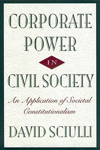 9780814797860: Corporate Power in Civil Society