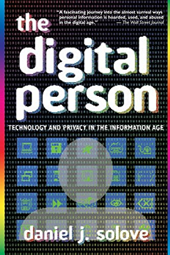 9780814798461: The Digital Person: Technology And Privacy In The Information Age