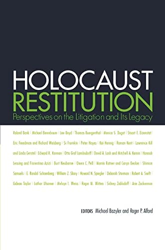 9780814799437: Holocaust Restitution: Perspectives on the Litigation and Its Legacy