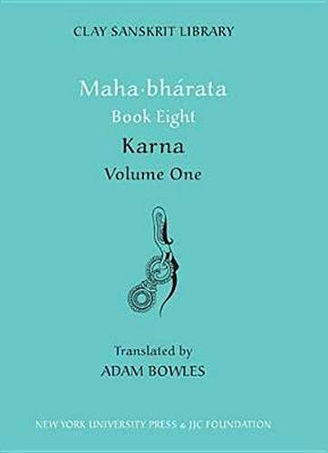 9780814799819: Mahabharata Book Eight (Volume 2): Karna, Vol. 1
