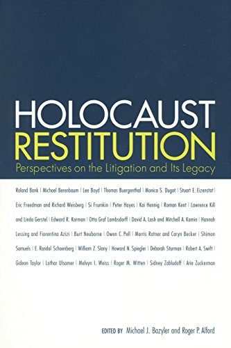 9780814799871: Holocaust Restitution: Perspectives on the Litigation and Its Legacy