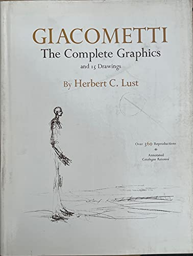 9780814804100: Giacometti: The complete graphics and 15 drawings,