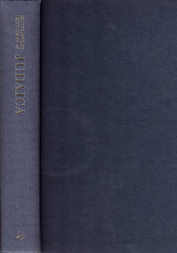 Encyclopedic Dictionary of Judaica: Wigoder, Geoffrey (Editor)