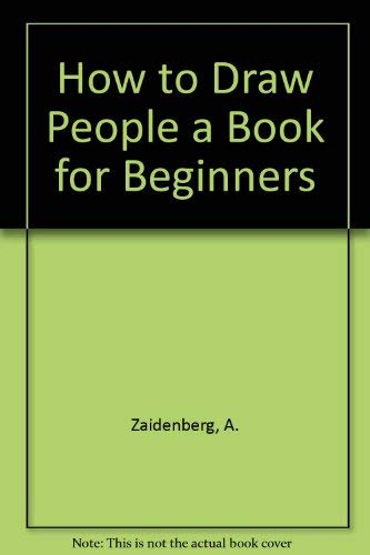 9780814904459: How to Draw People a Book for Beginners
