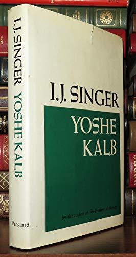 9780814907306: Yoshe Kalb