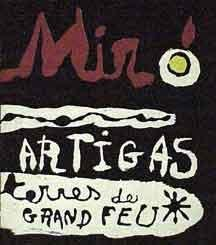 9780815000273: Sculpture in Ceramic by Miró and Artigas. (Original Graphics)