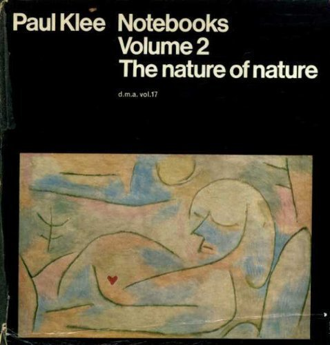 9780815000402: Paul Klee: Notebooks, Volume 2: The Nature of Nature