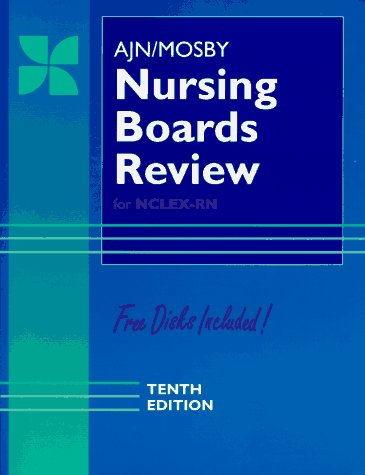 9780815100805: AJN/Mosby Nursing Boards Review (Ajn Nursing Boards Review for the Nclex - Rn Examination)