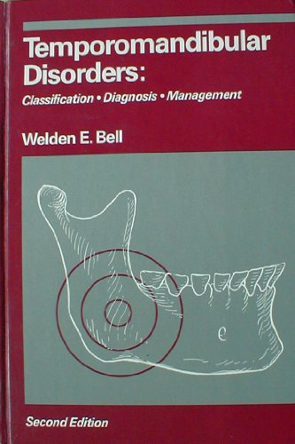 9780815106531: Temporomandibular Disorders: Classification, Diagnosis and Management
