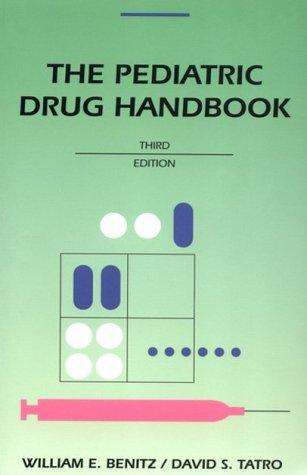 9780815106654: Pediatric Drug Handbook: Year Book Handbooks Series
