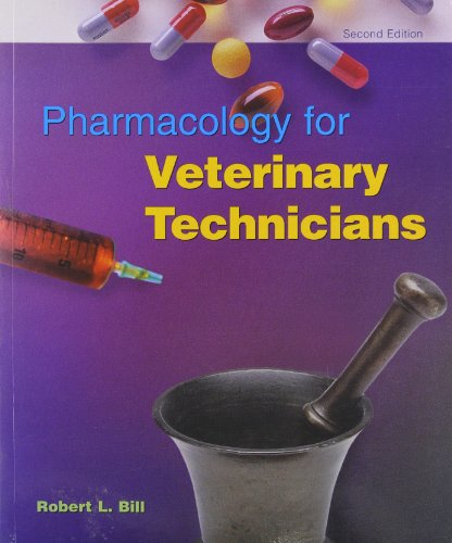 9780815109020: Pharmacology For Veterinary Technicians