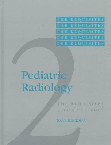 9780815109938: Pediatric Radiology: The Requisites
