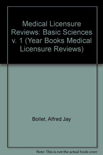 9780815110217: Basic Sciences: Anatomy/Physiology/Biochemistry/Microbiology/Pathology/Pharmacology/Behavioral Sciences (Year Books Medical Licensure Reviews) (v. 1)