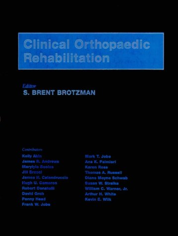 9780815110347: Clinical Orthopaedic Rehabilitation